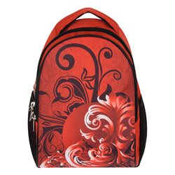 Рюкзак молодежный Alliance, цвет: красный