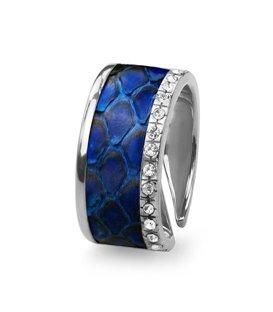 Кольцо Эдит - Синий питон