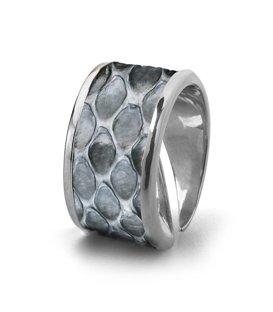 Кольцо Бланш-Серый питон