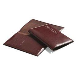 Обложка для паспорта BEFLER, цвет: Коричневый