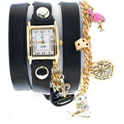 Часы женские La Mer Collections, цвет: Чёрный