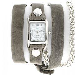 Часы La Mer Collections Chain Motor Silver Grey