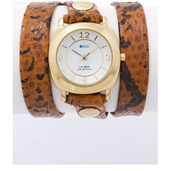 Часы La Mer Collections Odyssey Toffee Snake