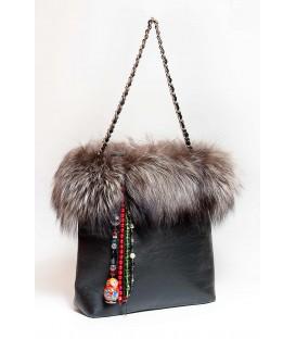 Дизайнерская сумка «Русская зима»