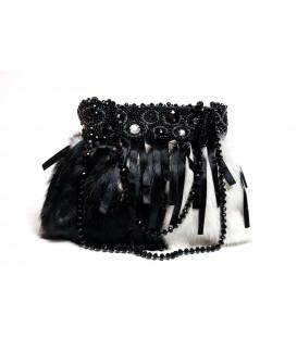 Дизайнерская сумка «Черно-белое кино»