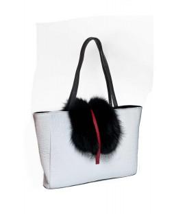 Дизайнерская сумка «Зима-лето»