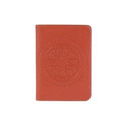 Бумажник водителя FABULA, цвет: Рыжий