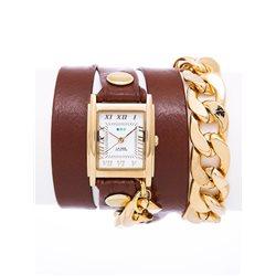 Часы женские La Mer Collections, цвет: Коричневый