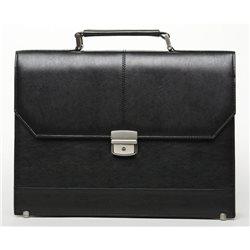 Портфель мужской Alliance, цвет: черный