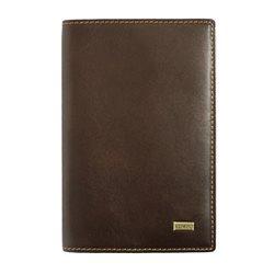 Обложка для документов Edmins, цвет: коричневый