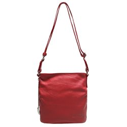 Сумка женская Edmins, цвет: красный