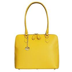 Сумка женская Edmins, цвет: желтый