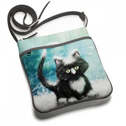 Сумка планшет Snow cat от Махаона