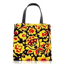 Дизайнерская сумка от MAPO, тема: Хохлома