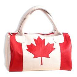 Дизайнерская сумка от MAPO, тема: Канада