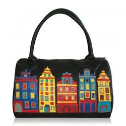 Дизайнерская сумка от MAPO, тема: Цветной город