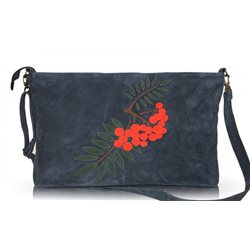 Дизайнерская сумка от MAPO, тема: Рябина