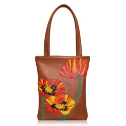 Дизайнерская сумка от MAPO, тема: Маковый букет