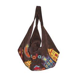 Дизайнерская сумка от MAPO, тема: Прага (коричневая)