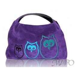 Дизайнерская сумка от MAPO, тема: Три совы