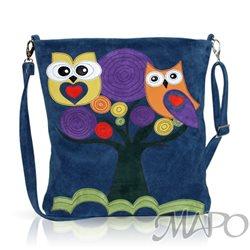 Дизайнерская сумка от MAPO, тема: Совы
