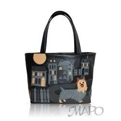 Дизайнерская сумка от MAPO, тема: Терьер