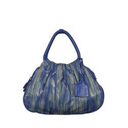 Сумка женская FJDO, цвет: голубой