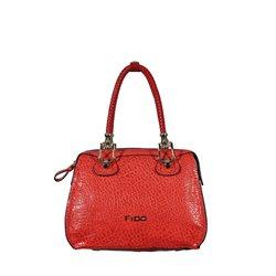 Сумка женская FJDO, цвет: красный