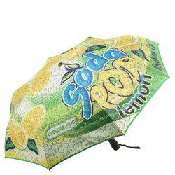 зонт женский, автомат Moschino, цвет: мультиколор