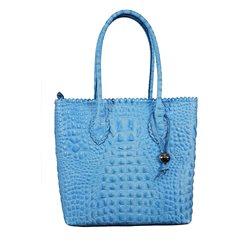 Сумка женская Di Gregorio, цвет:Голубой