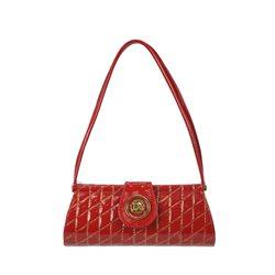 Сумка-клатч женская Di Gregorio, цвет:Красный