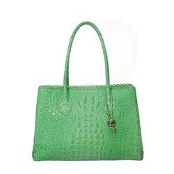 Сумка женская Di Gregorio, цвет: зеленый