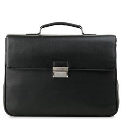 Портфель мужской Fiato, цвет: черный