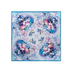 Шейный платочек ELEGANZZA, цвет: Синий