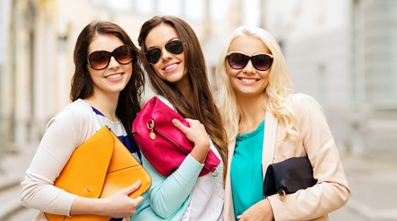 Мода на женские сумки в Москве осень 2014